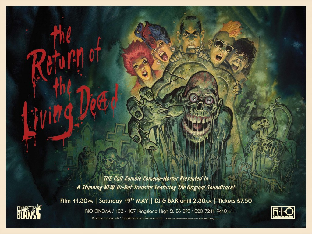 RETURN OF THE LIVING DEAD, THE - Silver Ferox WEB