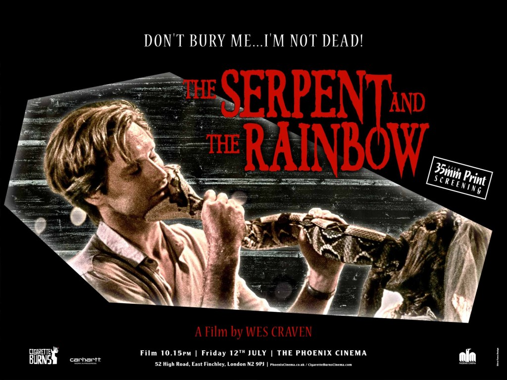 SERPENT AND THE RAINBOW, THE - Silver Ferox Design WEB