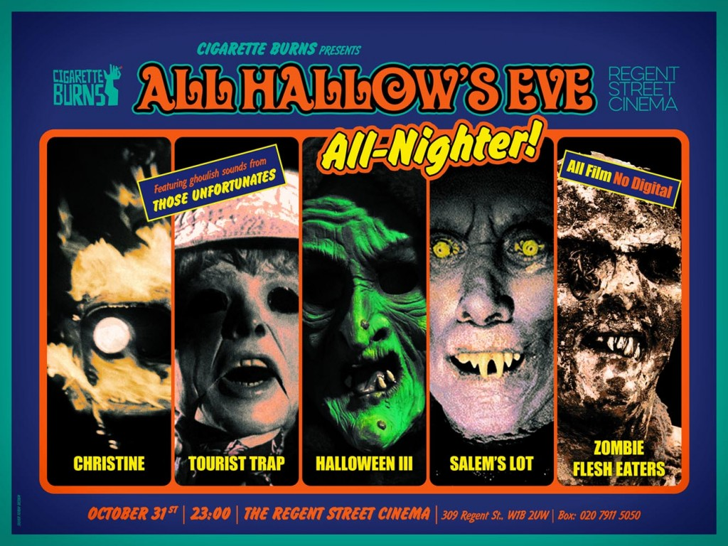 ALL HALLOW'S EVE All-Nighter - Silver Ferox Design